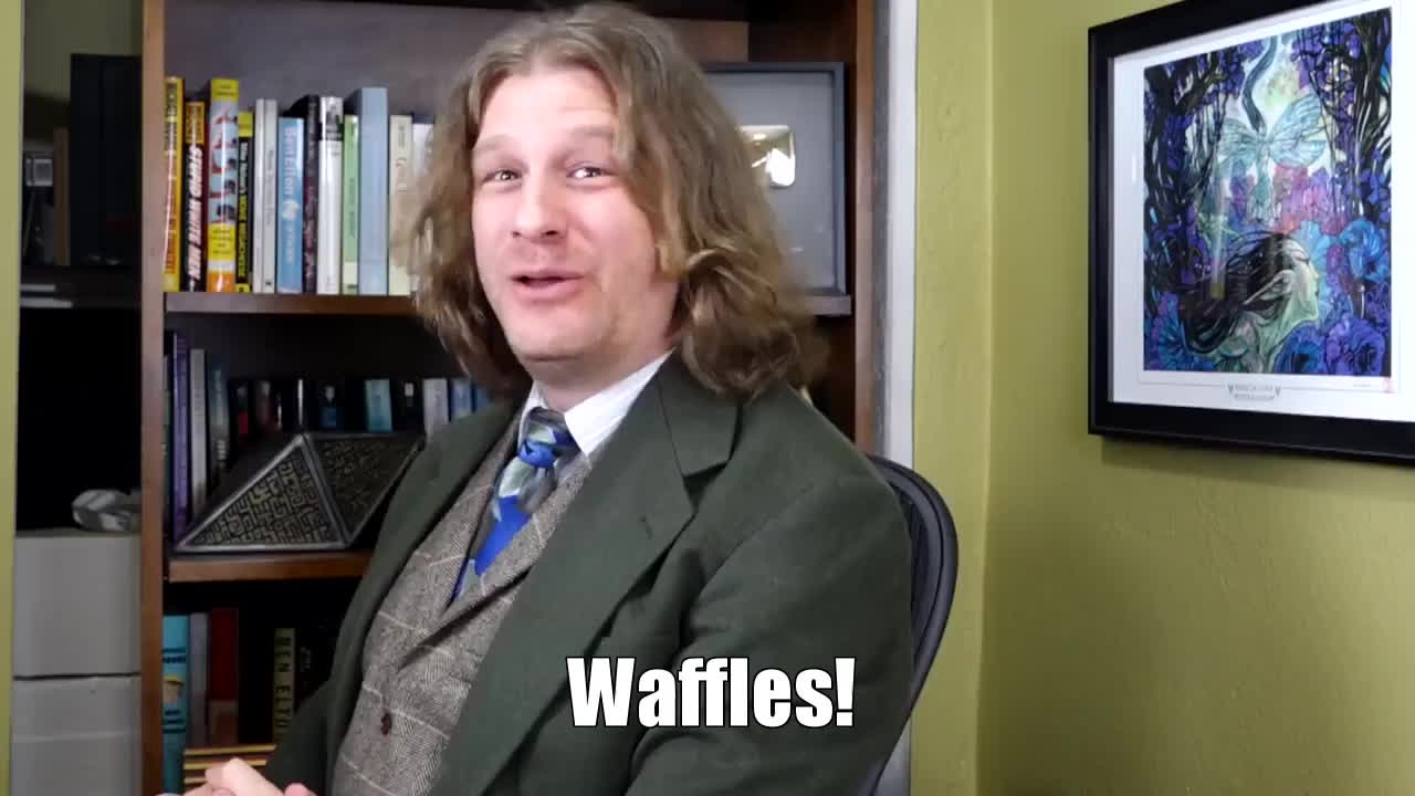 magicTCG, mtg, tolariancommunitycollege, The Professor prefers Waffles GIFs