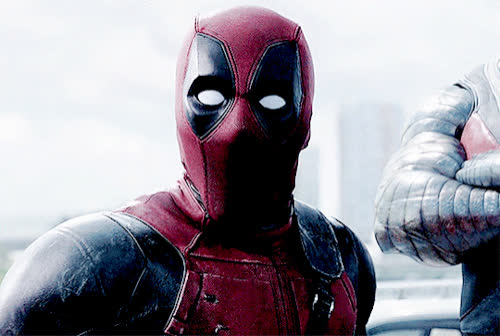 deadpool, omg, ryan reynolds, shock, shocked, shook, surprise, Deadpool OMG GIFs