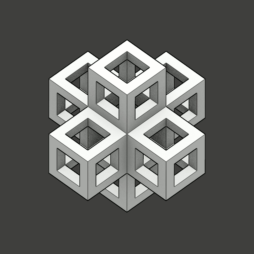 isometric, oddlysatisfying, I think this angle makes this gif look much more amazing! (reddit) GIFs