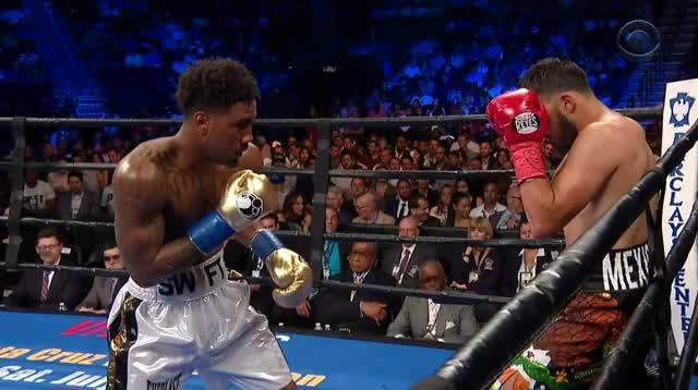 Watch Jarrett Hurd uppercut first angle GIF by Tom_Cody (@tomcody) on Gfycat. Discover more Boxing, Jarret Hurd, Knockdown, Oscar Molina GIFs on Gfycat