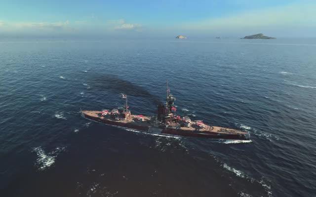 Watch and share World Of Warships GIFs and Iron Duke GIFs by Strana Mechty on Gfycat