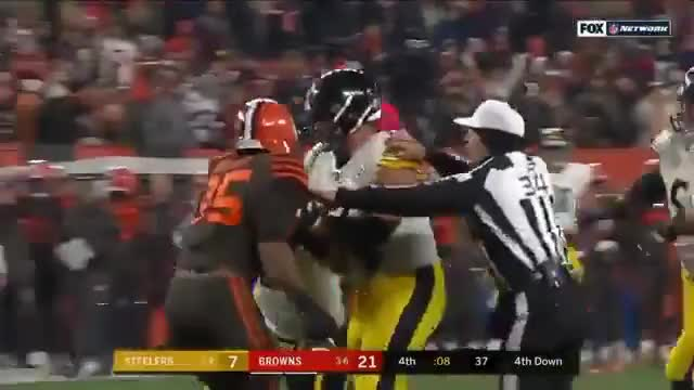 Watch and share Pittsburgh Steelers GIFs and Cleveland Browns GIFs by Tayne on Gfycat