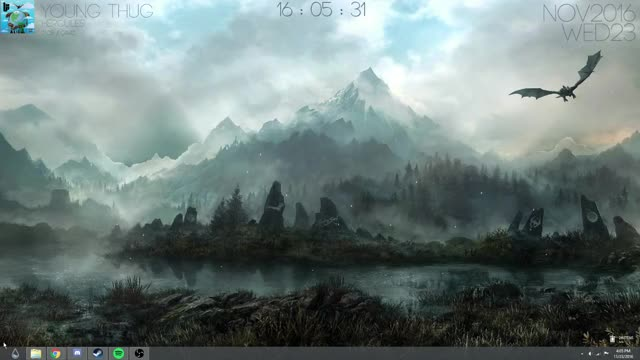 Watch Custom Skyrim Rainmeter Desktop GIF on Gfycat. Discover more rainmeter GIFs on Gfycat