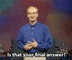 Watch and share Final Answer GIFs on Gfycat