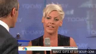 Watch and share P!nk GIFs on Gfycat