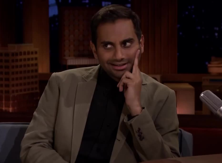 OK, Aziz Ansari and Jimmy Dramatically Read More Bad Yelp Reviews GIFs