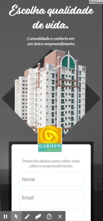 Watch and share Garden Atiradores - Apartamentos Com Ótima Localização Em Joinville GIFs on Gfycat