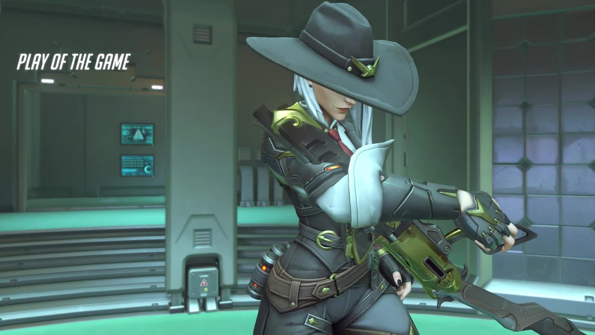 overwatch, potg, first ashe potg 18-11-14 22-09-33 GIFs