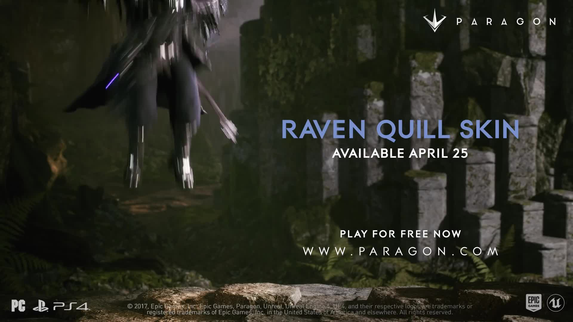DOTA, Epic Games, Fortnite, MOBA, PC, PS4, Paragon, Unreal Engine, Unreal Tournament, Xbox One, Paragon - Revenant Announce GIFs