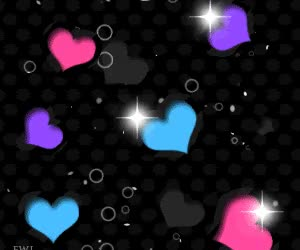 Watch and share Neon Color Changing Hearts.gif GIFs on Gfycat