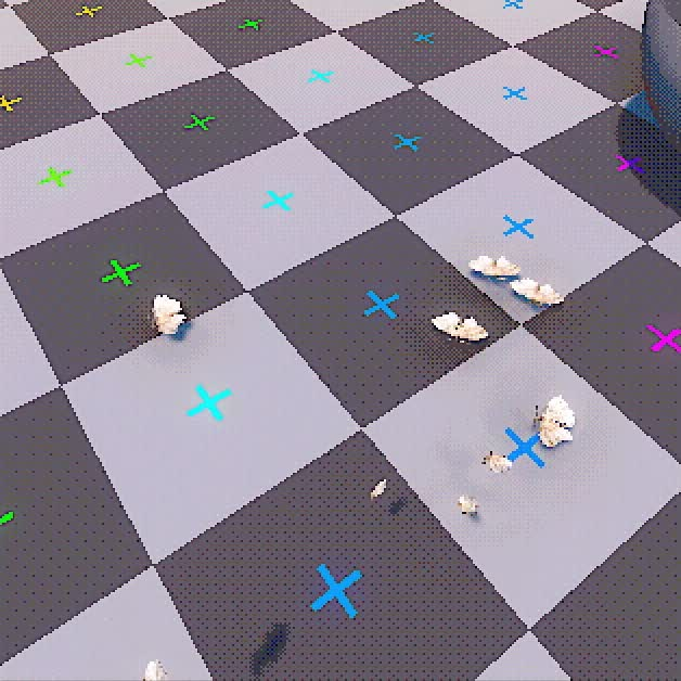 Watch and share Particles Moths Test 01 GIFs by Acorn Bringer on Gfycat