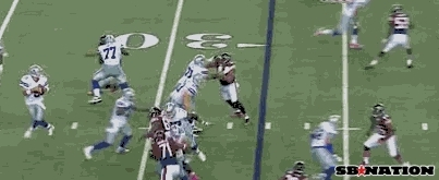 Briggs pick 6 vs Cowboys GIFs