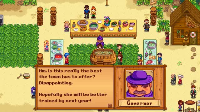 Watch and share 1841069 - Governor Stardew Valley Animated Blargsnarf Sprites GIFs on Gfycat