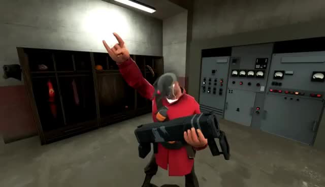 TF2 Soldier rockin' out! GIF   Find, Make & Share Gfycat GIFs