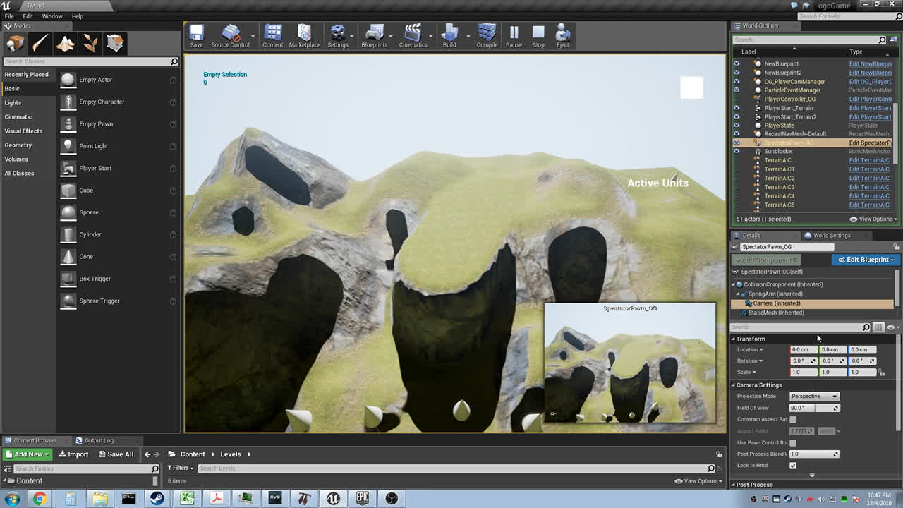 unrealengine, Orthographic Camera - Not Working Correctly. (reddit) GIFs