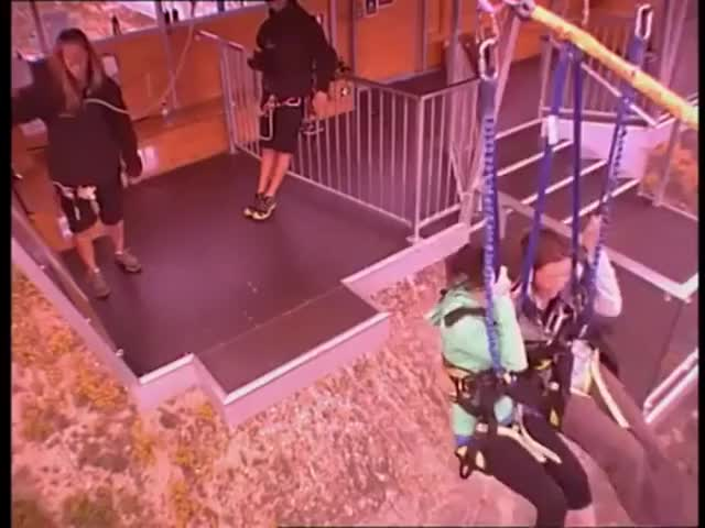 Watch One of New Zealand's most popular tourist attractions: the Nevis swing  GIF by Nick (@yunick) on Gfycat. Discover more related GIFs on Gfycat