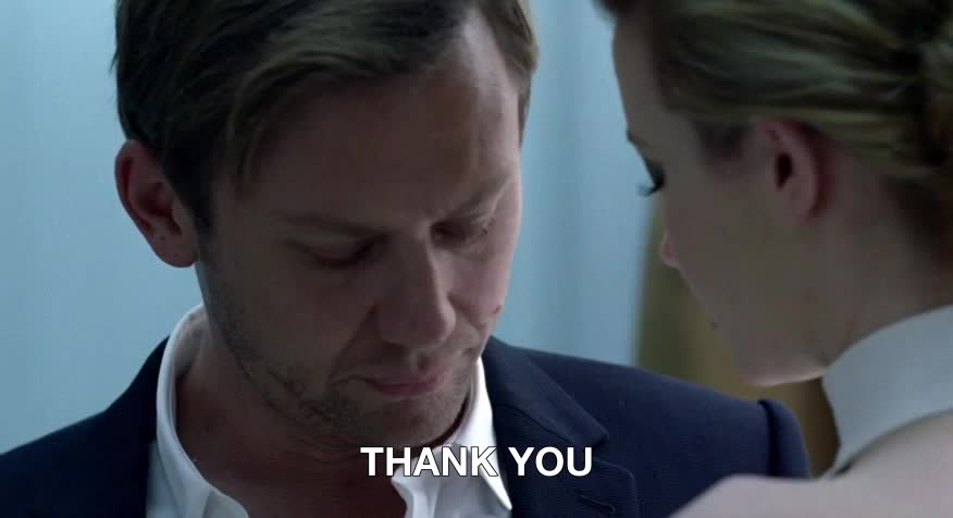 hbo, jimmi simpson, talulah riley, thank you, thanks, westworld, Thank you GIFs