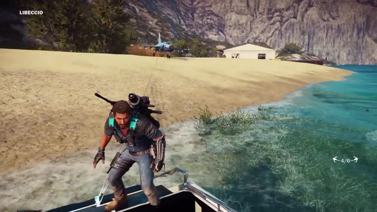 ▷ Two Stage Rocket Car - Just Cause 3 Stunts! GIF by
