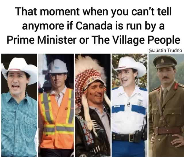 Watch and share Justin Trudeau Village People GIFs on Gfycat