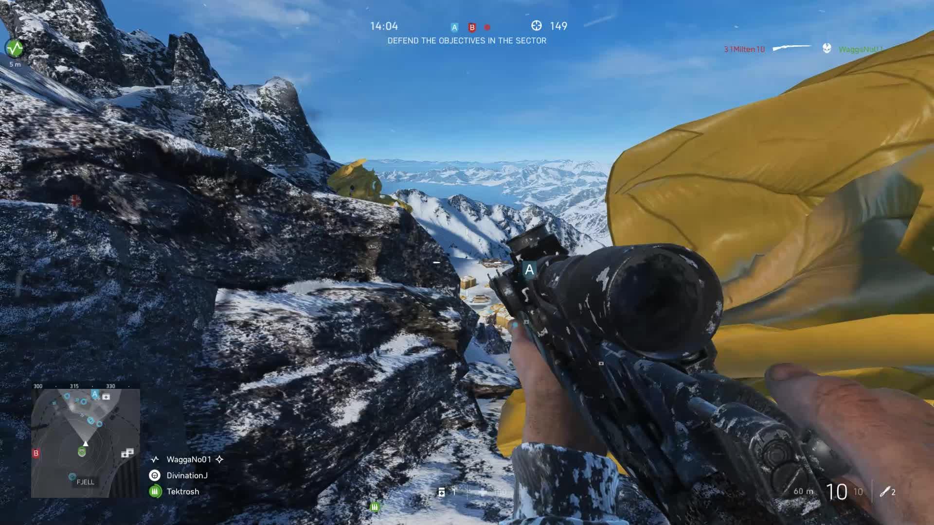 BF5, BFV, Battlefield 5, Battlefield Sniper, Battlefield V, BattlefieldV, King of the Fjell 652 Mountain! GIFs