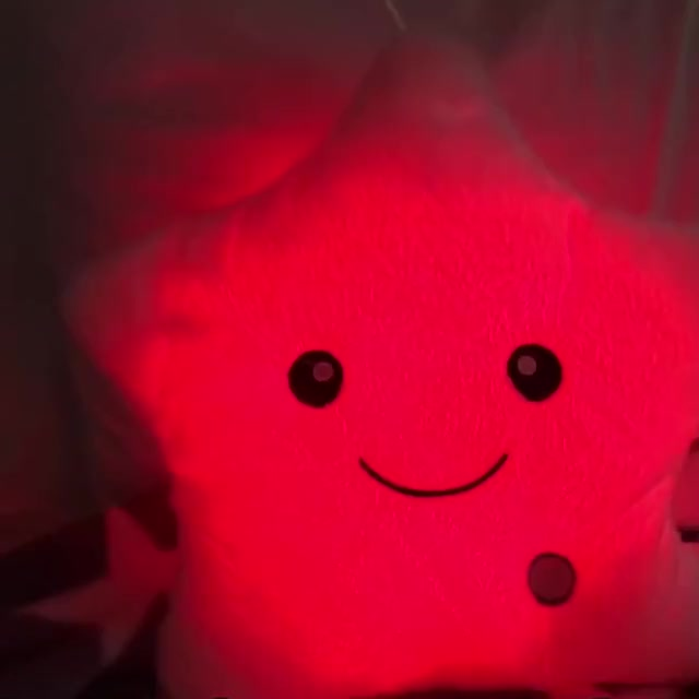 Watch and share Glowing Star™ Pillow 1 GIFs by thriveblue on Gfycat