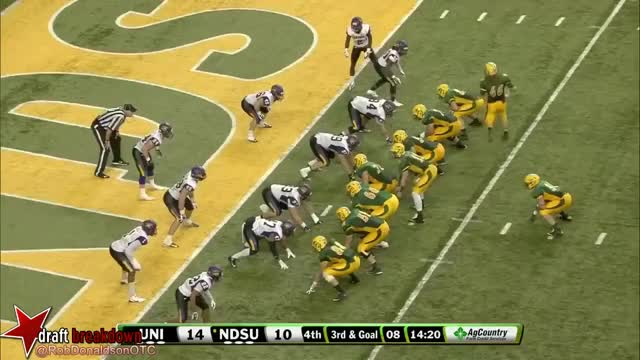 Watch and share Wentz Northern Iowa Naked Boot TD GIFs by jxk5441 on Gfycat