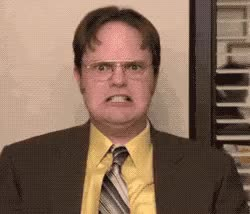 Watch and share Dwight Schrute GIFs and Rainn Wilson GIFs by Reactions on Gfycat