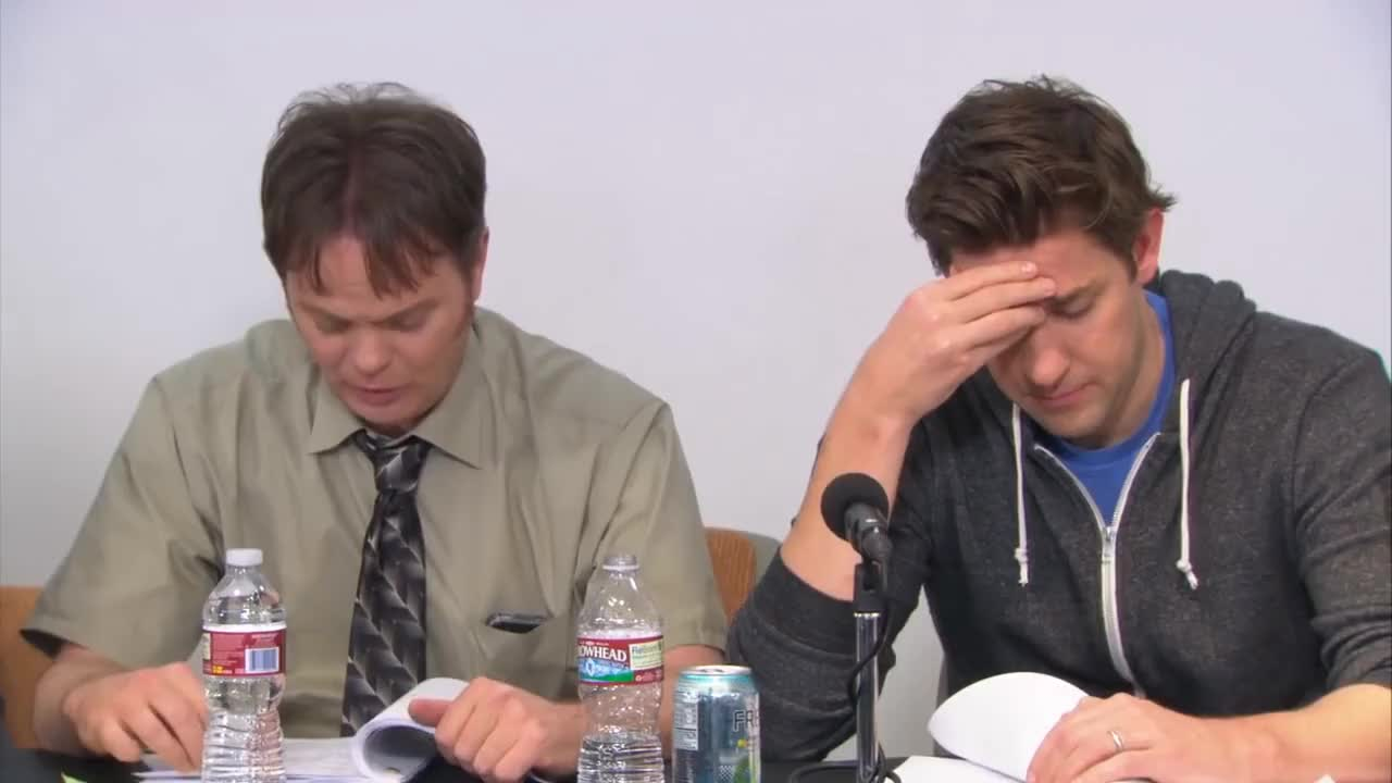 office, The Office (US) - Finale - Table Read (HD) GIFs