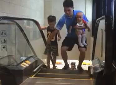 Watch and share Escalator GIFs on Gfycat