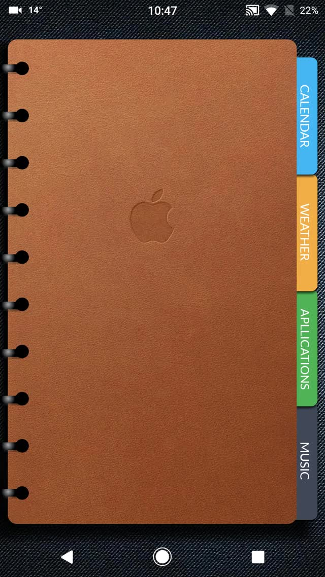 Watch and share Apple Notebook GIFs by ThemeThief on Gfycat