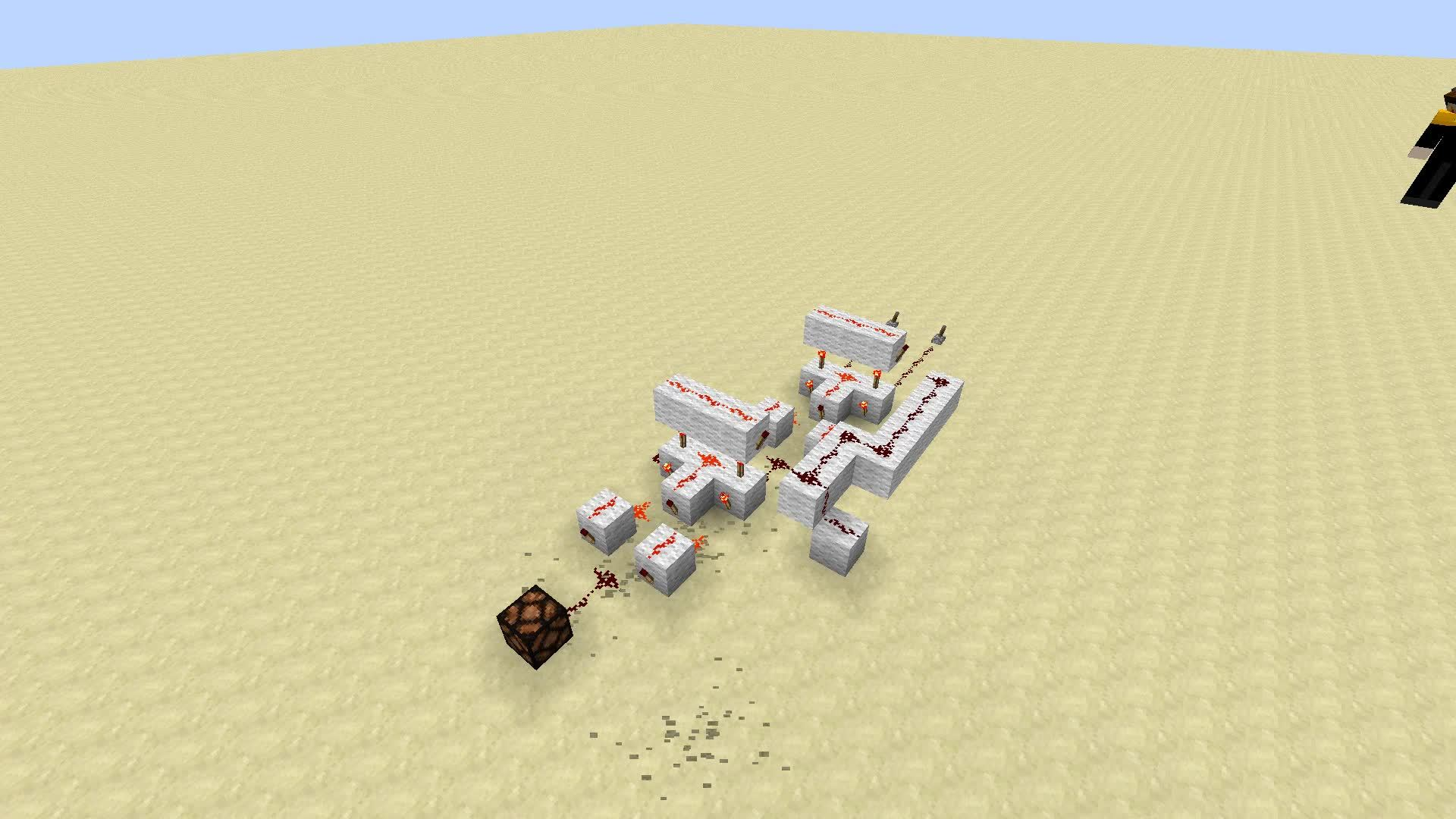 mcpe, minecraft, redstone, Torch Only Full Adder - McPe Ready GIFs
