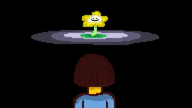 Watch and share Undertale Flowey The Flower By GIFs on Gfycat