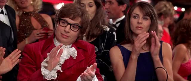 Watch this applause GIF by Reaction GIFs (@sypher0115) on Gfycat. Discover more Mike Myers, applause, austin powers, clap, clapping, elizabeth hurley, respect, slow clap GIFs on Gfycat