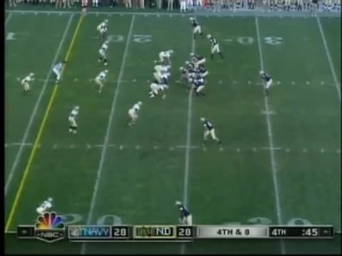 CFBgifs, cfbgifs, Navy's upset over Notre Dame (Play-of-the-Game) (reddit) GIFs