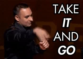 russel peters, take it and go