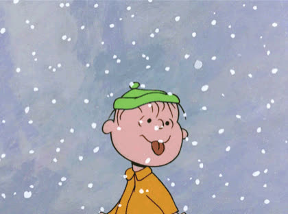 bad, brown, charlie, cold, drinking, eat, eating, food, hungry, nature, snoopy, snow, snowing, weather, Eating snow GIFs