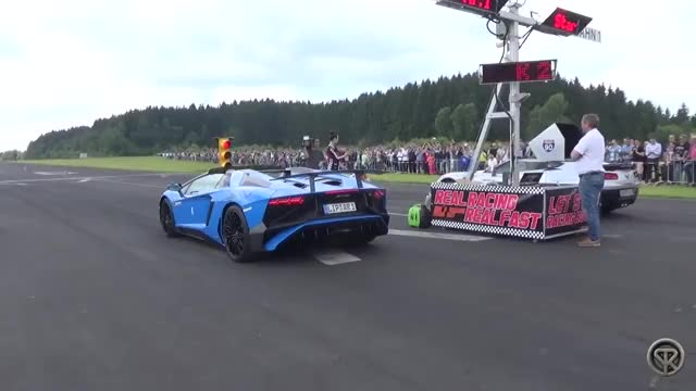 Watch and share Aventador Almost Hits Cameramn  GIFs by xboxcarsforza on Gfycat