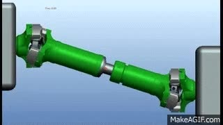 Watch and share Yoke Assembly - Cardan Shaft - Propeller Shaft - Drive Shaft - Driveline - Spider Cross - UJ Kit GIFs on Gfycat