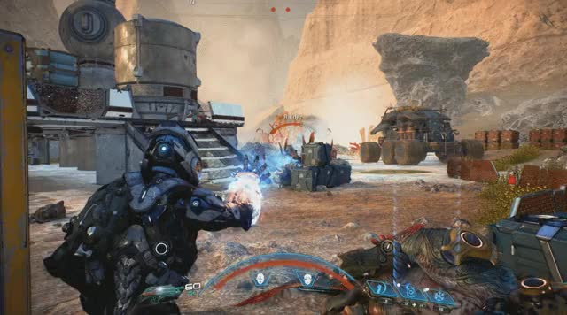 Watch and share Mass Effect: Andromeda Cryo Beam GIFs by Wes on Gfycat