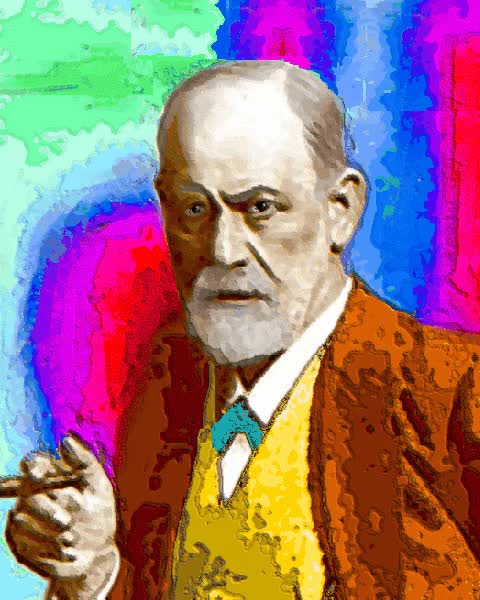 Watch and share Freud Animated GIFs on Gfycat