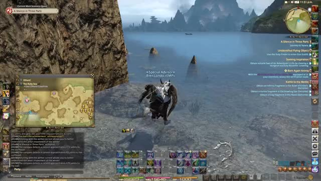 Watch Walking on Water!...oh GIF by communistprime on Gfycat. Discover more ffxiv, video game GIFs on Gfycat