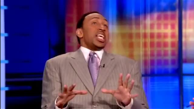 Watch Stephen A Smith reaction to Scottie Pippen saying LeBron James is better than Jordan (Blasphemous) GIF on Gfycat. Discover more ESPN2, blasphemous, espn, nba, stephen a. smith GIFs on Gfycat