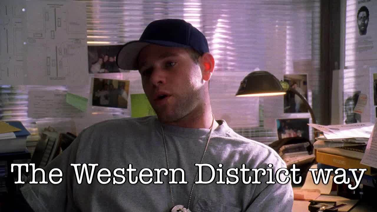 the wire, thewiregifs, The Western District way GIFs