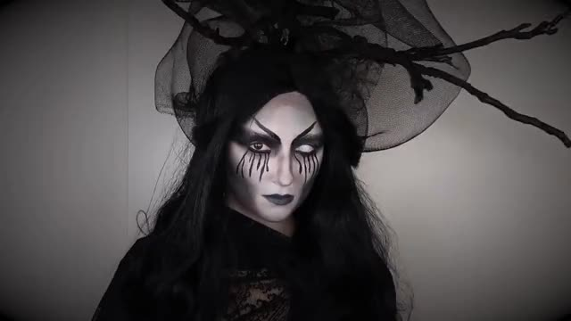 Watch EASY HALLOWEEN MAKEUP TUTORIAL 2017 | EVIL WITCH MAKEUP TUTORIAL GIF on Gfycat. Discover