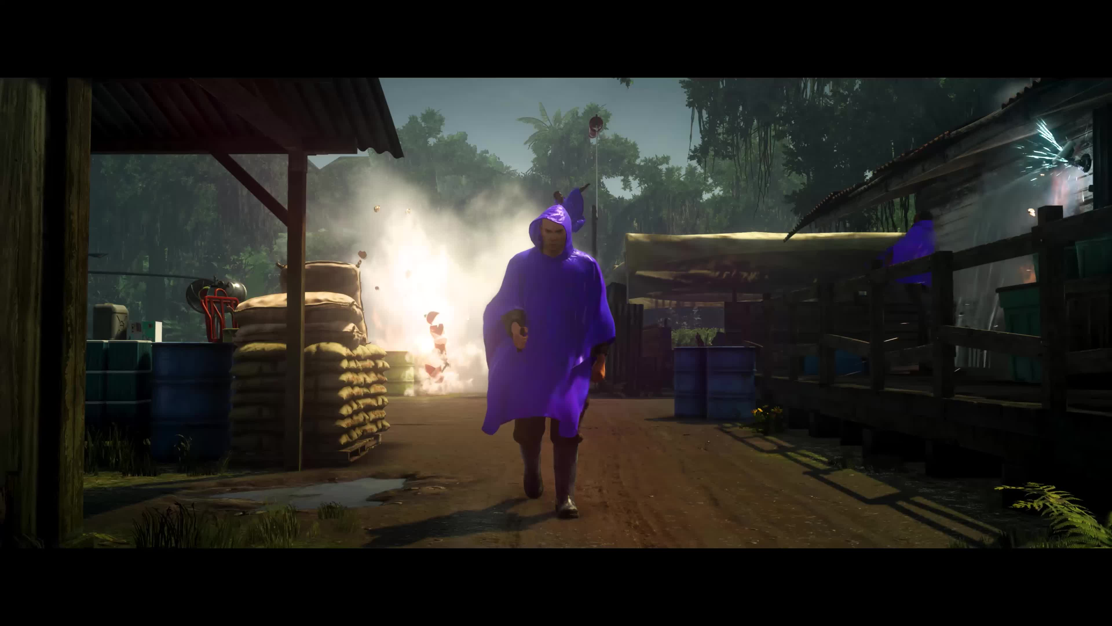 Hitman 2 Official Colombia Gameplay Trailer Gif Gfycat