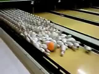 amazing bowling shot GIFs