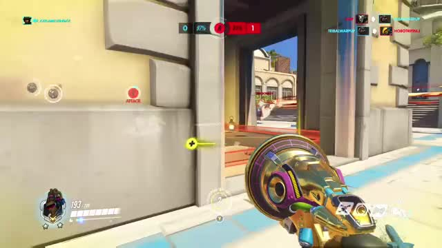 Watch This has to be the fattest clutch juke and game save ever, right? GIF on Gfycat. Discover more highlight, overwatch GIFs on Gfycat