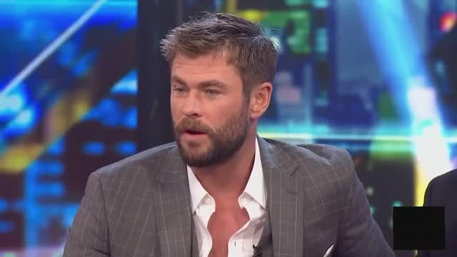 Watch Chris Hemsworth & Mark Ruffalo Interview The Project 16 October 2017 GIF on Gfycat. Discover more chris hemsworth GIFs on Gfycat
