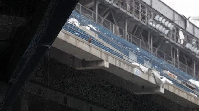 Watch The abandoned Silverdome GIF on Gfycat. Discover more cinemagraphs GIFs on Gfycat