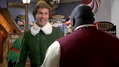 Watch Elf the movie: Santa Announcement GIF by The Livery of GIFs (@thegifery) on Gfycat. Discover more Elf, buddy, celebs, christmas, faizon love, ferrell, santa, will, will ferrell GIFs on Gfycat